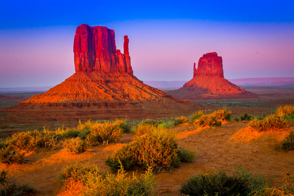 Mitten Sunset American Photo Blog